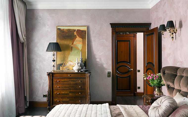 Квартира. спальня из проекта , фото №47347