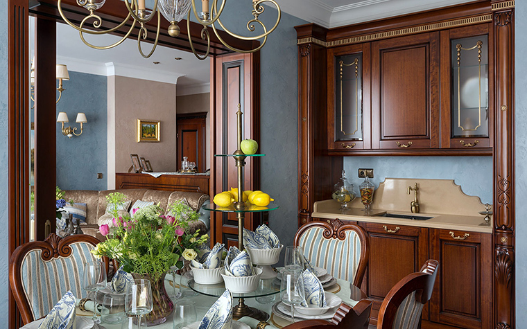 Фото № 47339 кухня  Квартира