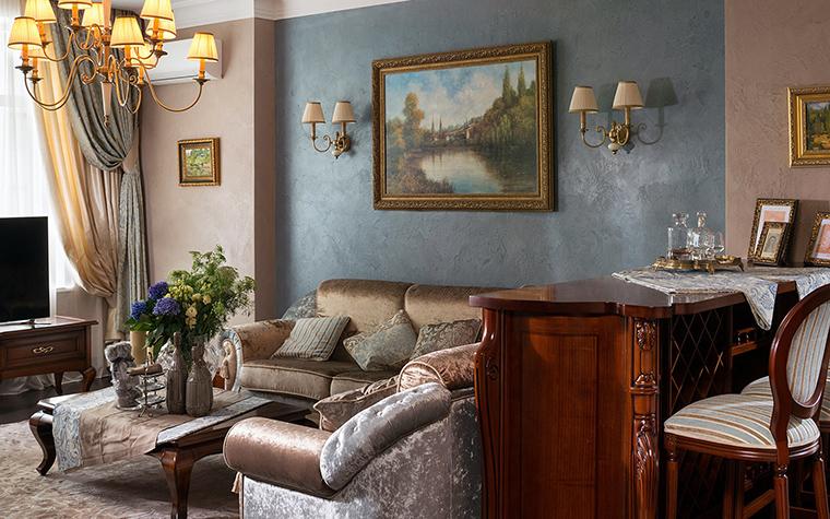 Квартира. гостиная из проекта , фото №47342