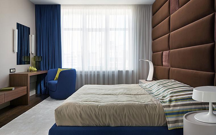 Квартира. спальня из проекта , фото №47380