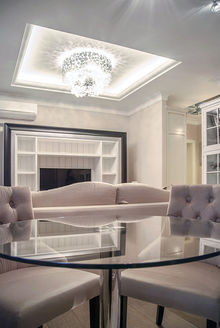интерьер гостиной - фото № 47382