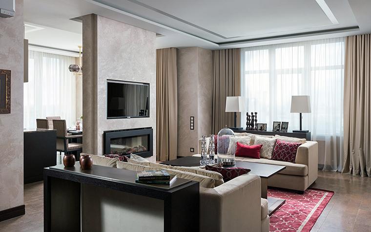 интерьер гостиной - фото № 47421