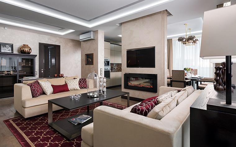 интерьер гостиной - фото № 47422