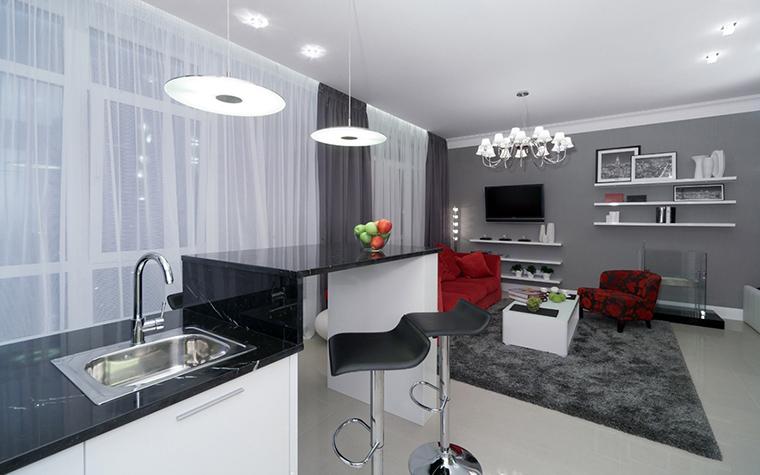 Фото № 47442 гостиная  Квартира
