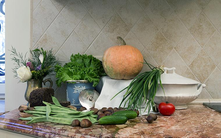 Фото № 47459 кухня  Квартира