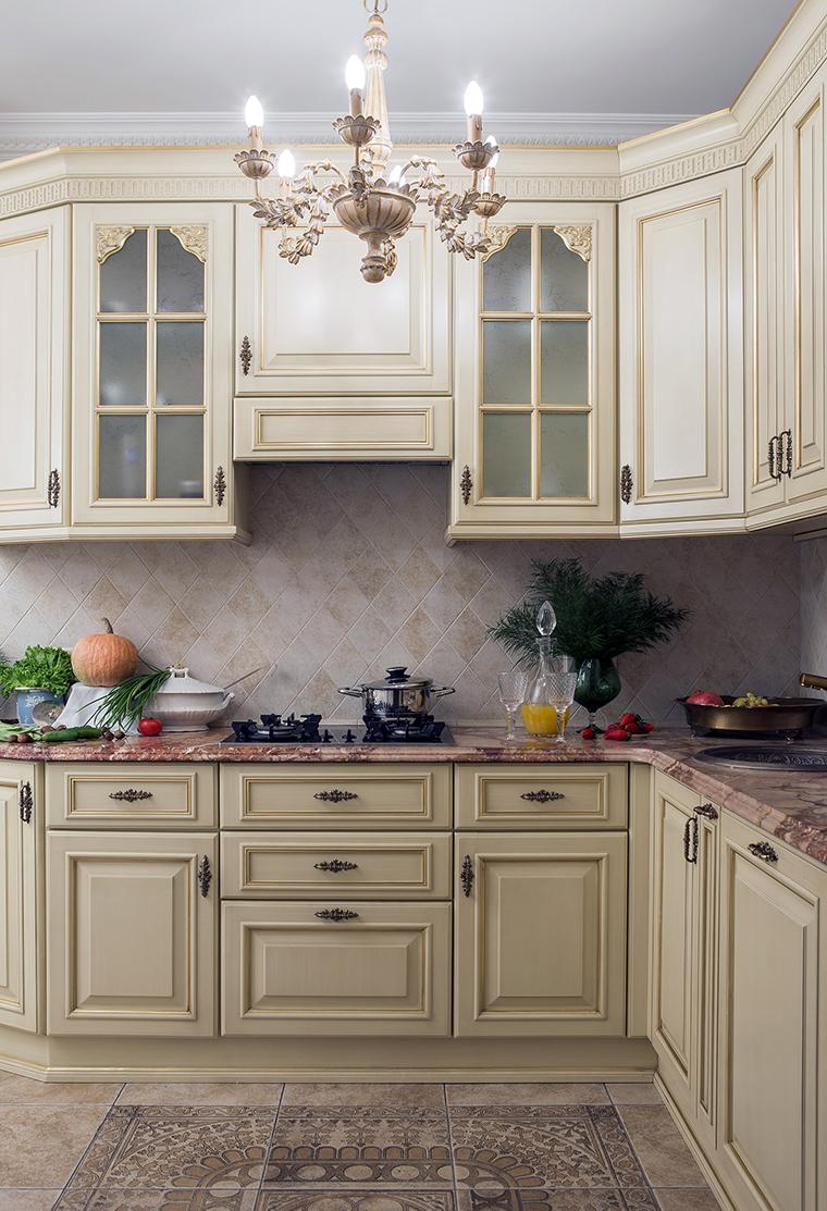 Фото № 47462 кухня  Квартира