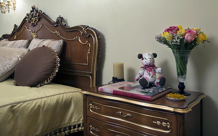 интерьер спальни - фото № 47471