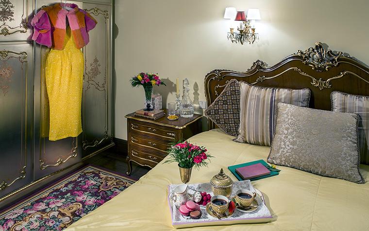 интерьер спальни - фото № 47472