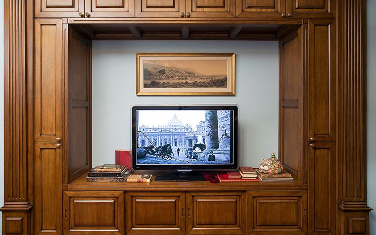 Фото № 47486 кабинет библиотека  Квартира