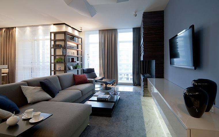 интерьер гостиной - фото № 47503