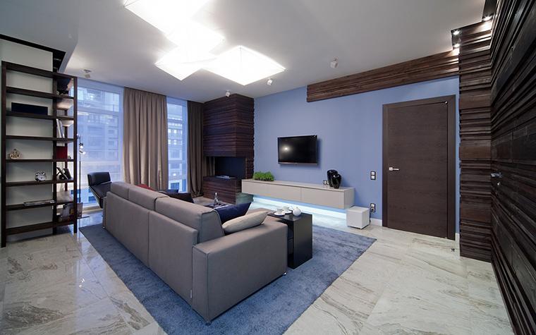 интерьер гостиной - фото № 47504