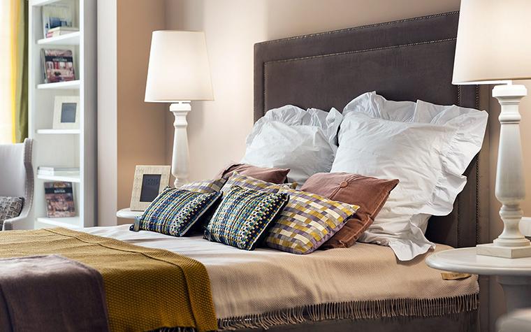 интерьер спальни - фото № 47520