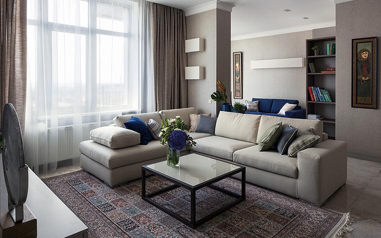 интерьер гостиной - фото № 47542