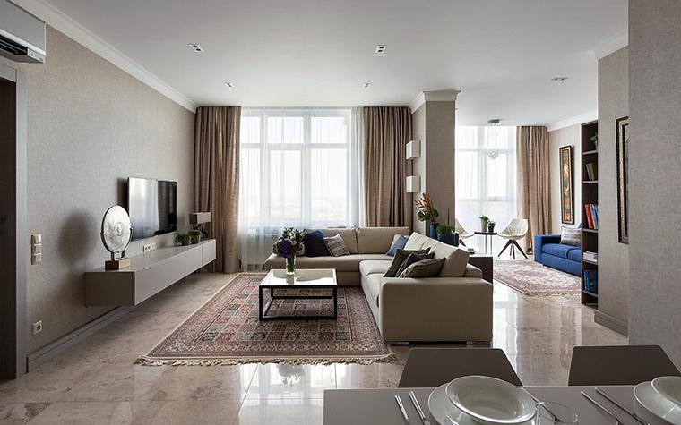 интерьер гостиной - фото № 47543