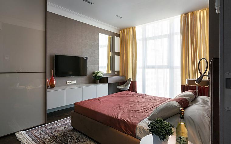 интерьер спальни - фото № 47545