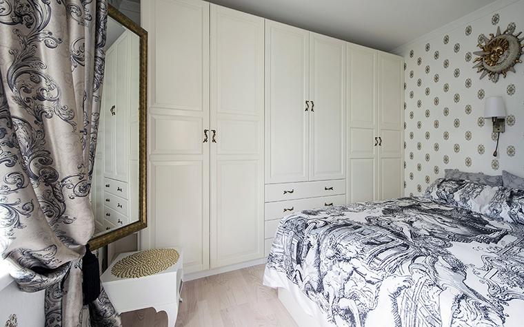 интерьер спальни - фото № 47575