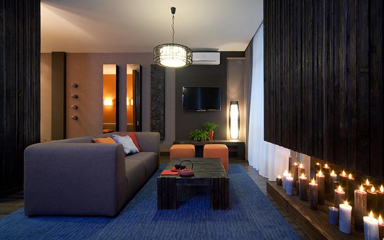Фото № 47588 гостиная  Квартира