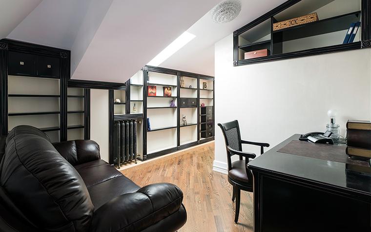 Квартира. кабинет из проекта , фото №47594