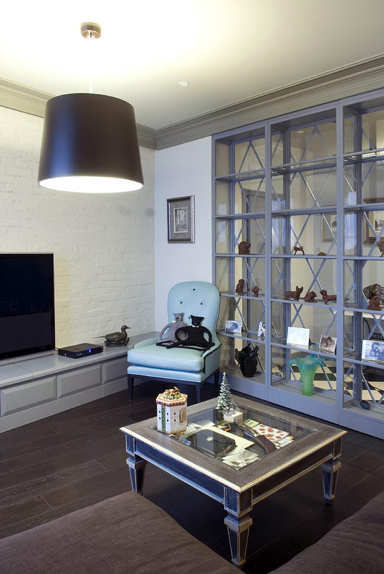 интерьер гостиной - фото № 47638