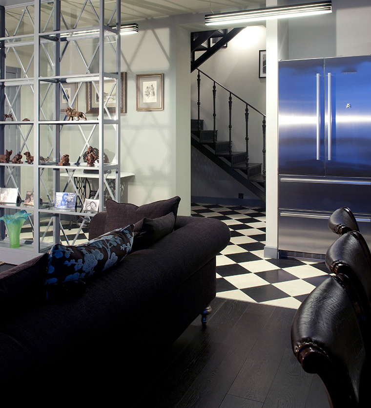 интерьер гостиной - фото № 47639