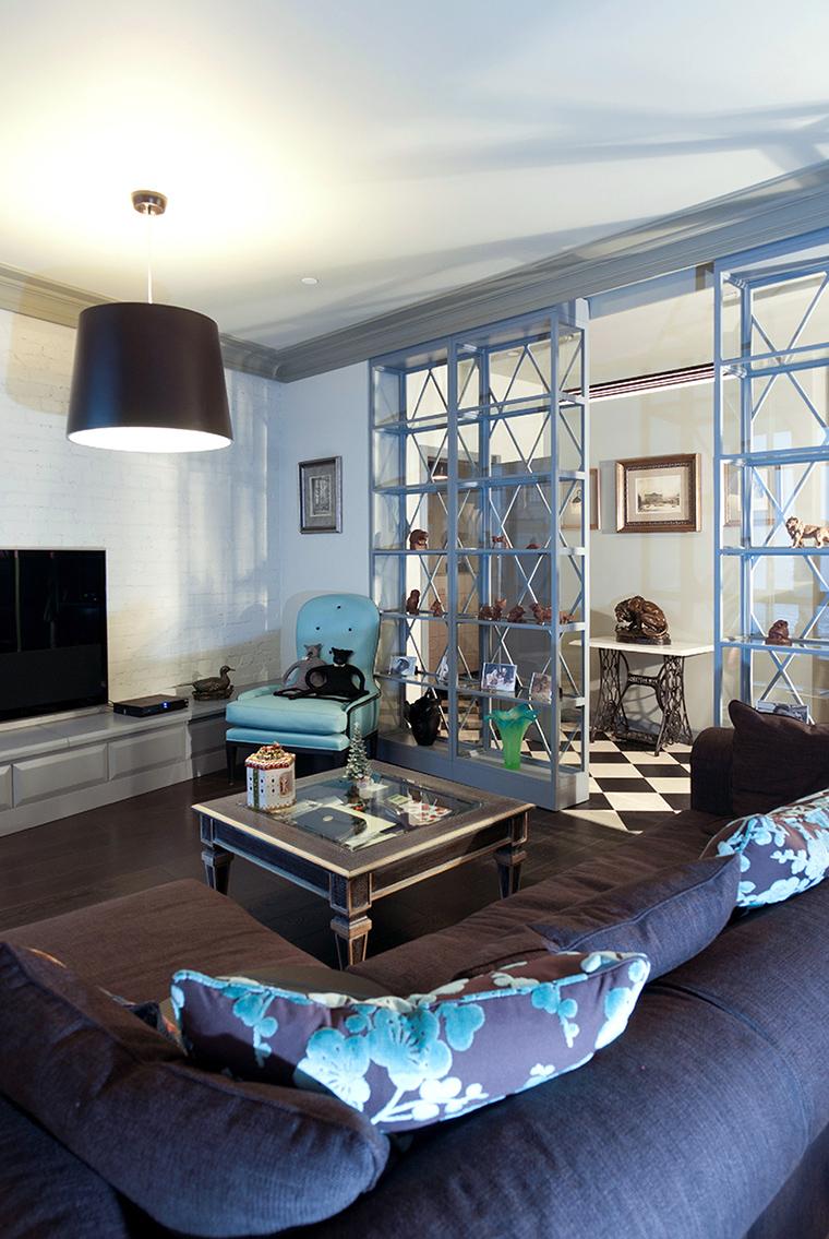 интерьер гостиной - фото № 47640
