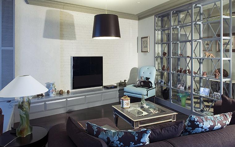 интерьер гостиной - фото № 47636