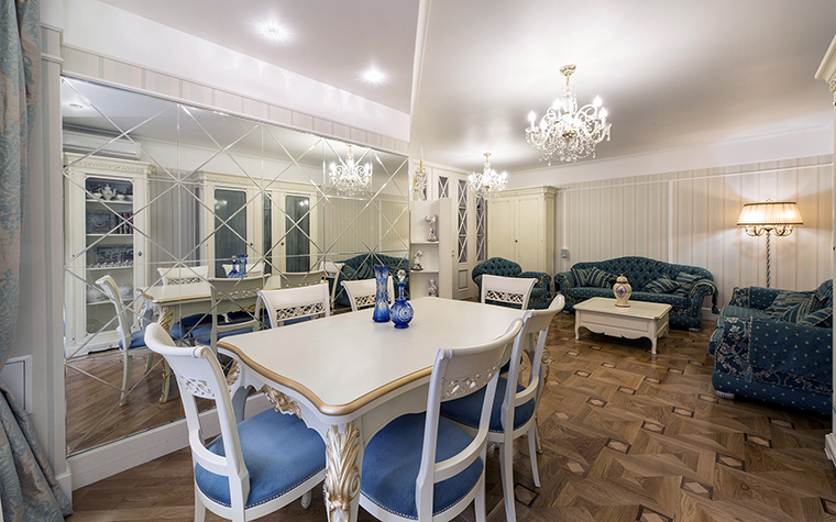 Квартира. столовая из проекта , фото №47656