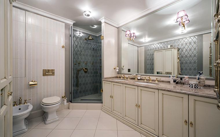 Квартира. ванная из проекта , фото №47659
