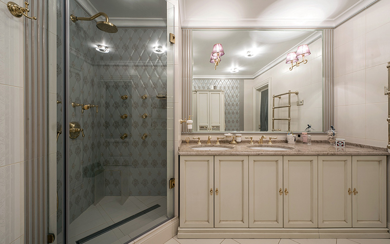 Квартира. ванная из проекта , фото №47660