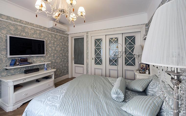 Квартира. спальня из проекта , фото №47652