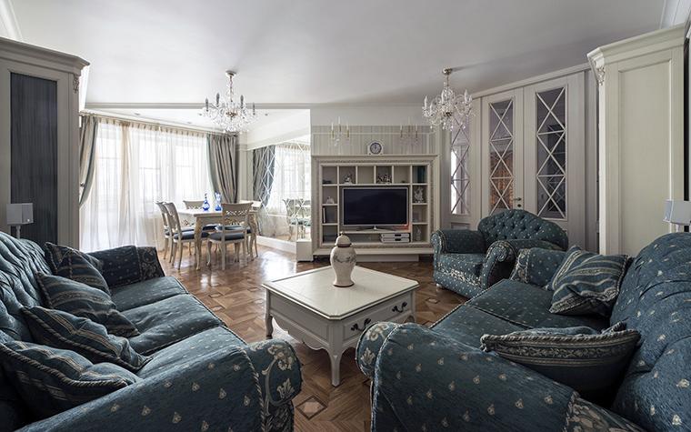 интерьер гостиной - фото № 47657
