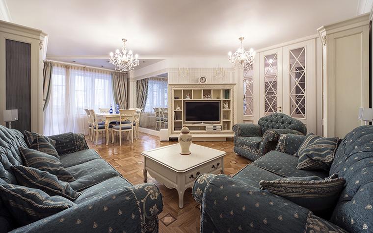 Квартира. гостиная из проекта , фото №47658