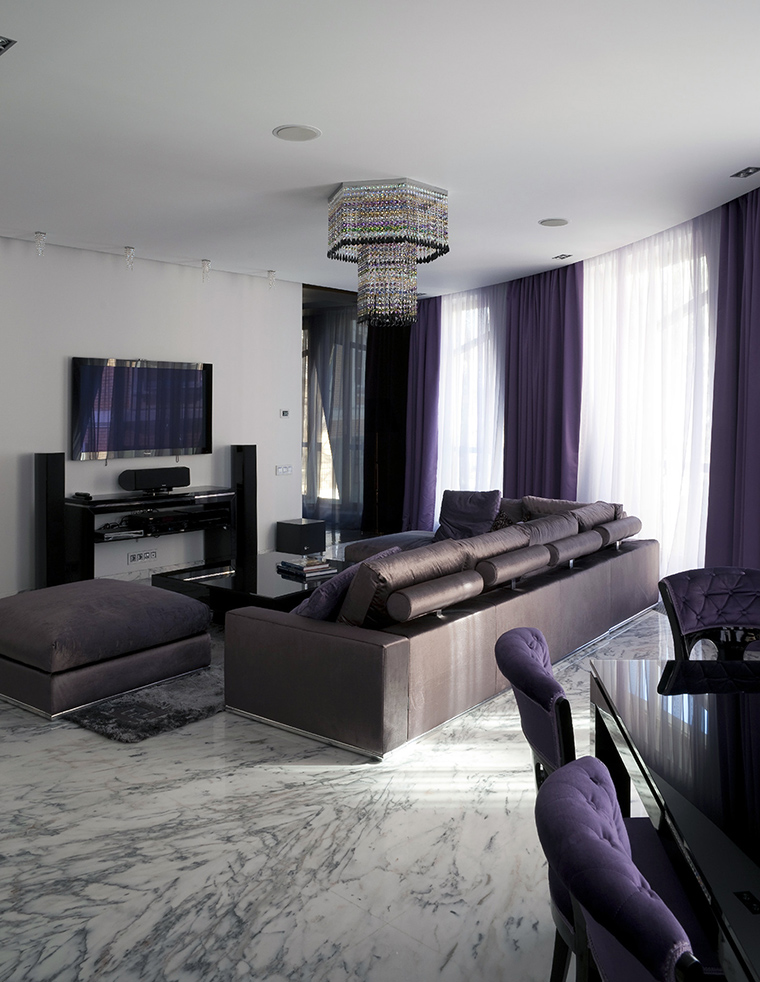 интерьер гостиной - фото № 47781