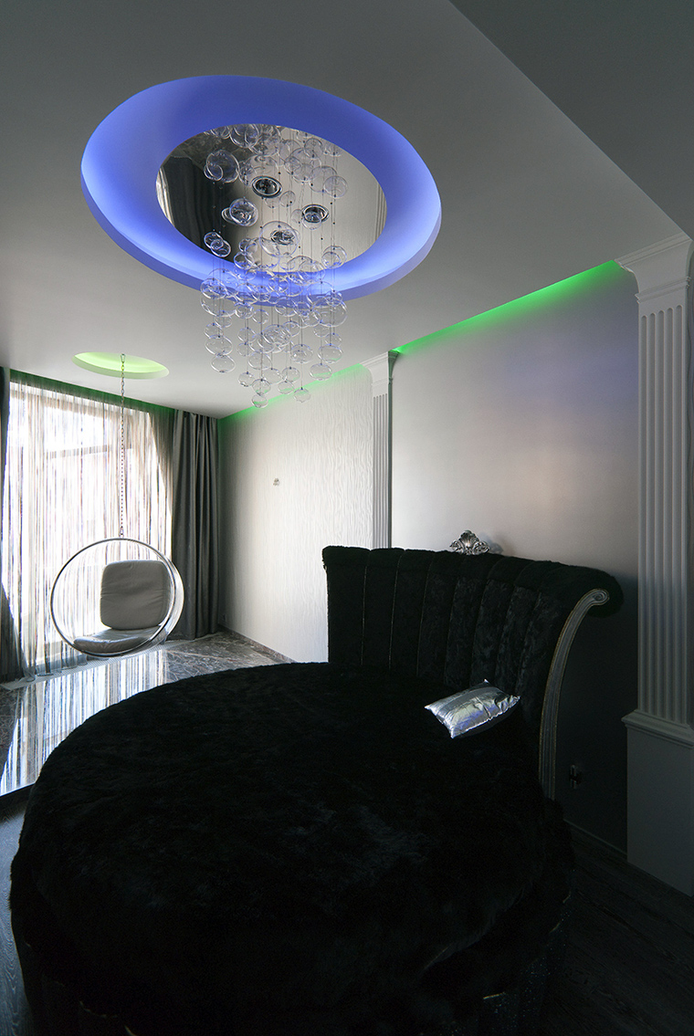 интерьер спальни - фото № 47788