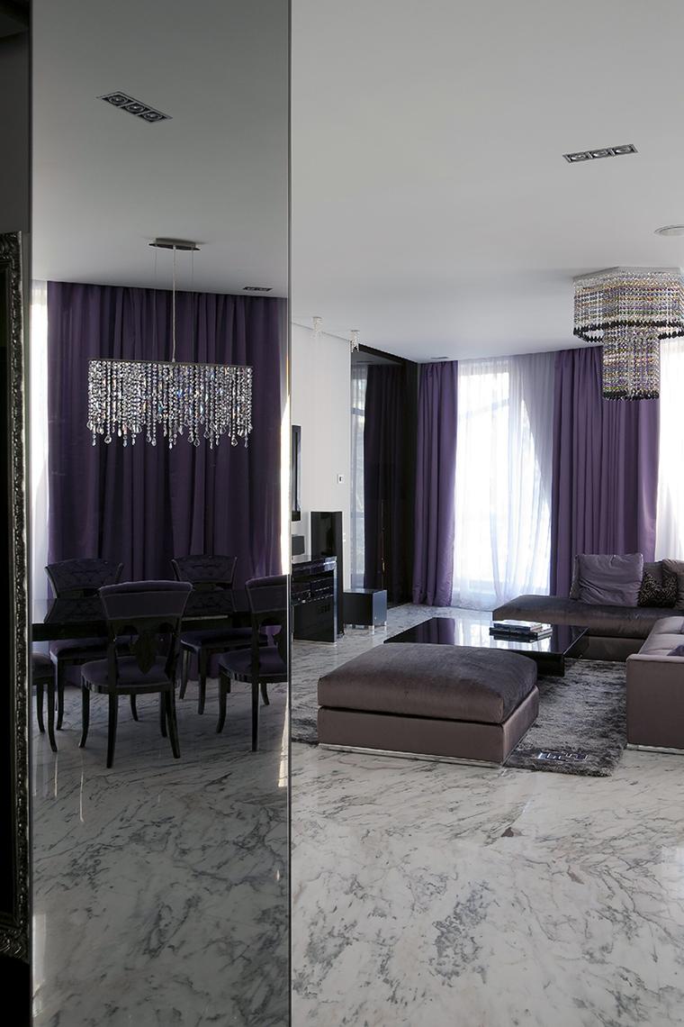 интерьер гостиной - фото № 47776