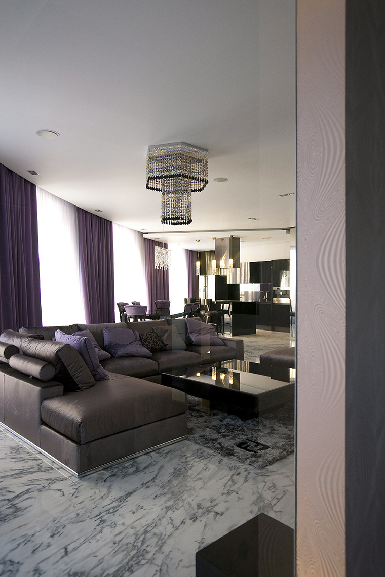 интерьер гостиной - фото № 47777