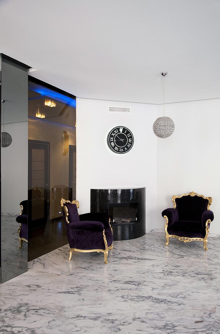 интерьер гостиной - фото № 47782