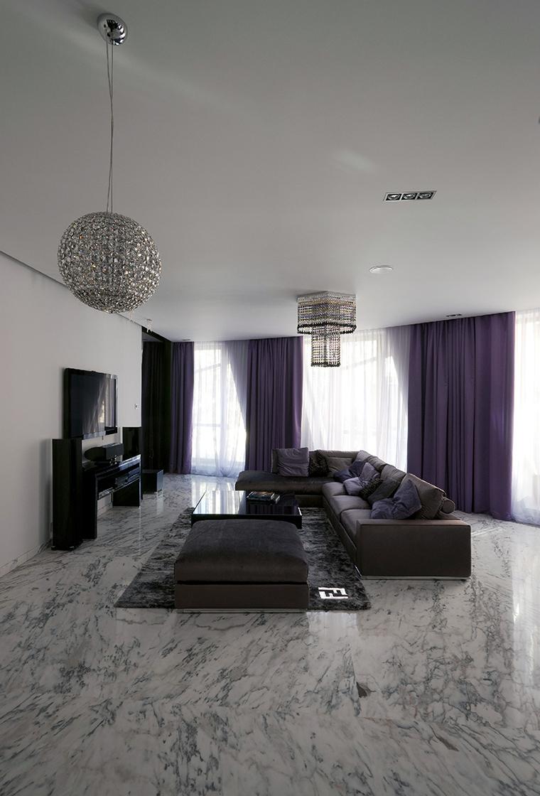 интерьер гостиной - фото № 47780