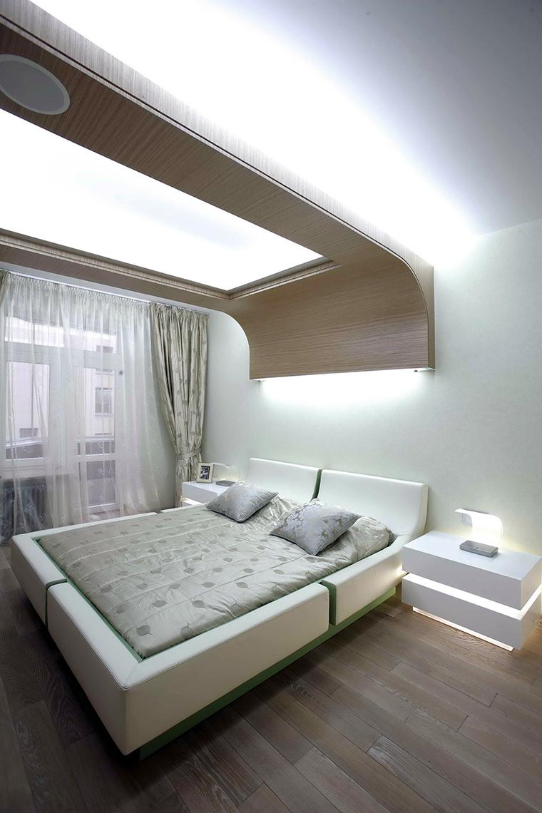 интерьер спальни - фото № 47814