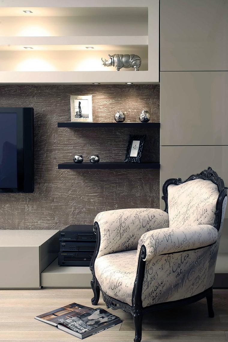 интерьер гостиной - фото № 47810