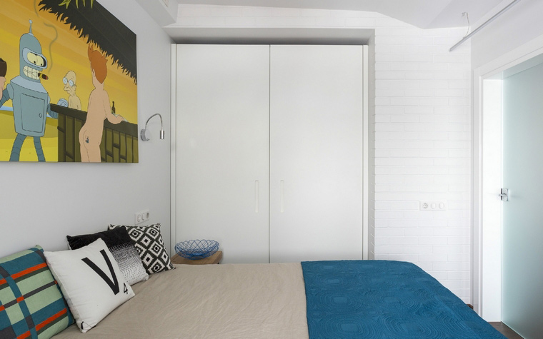интерьер спальни - фото № 47897