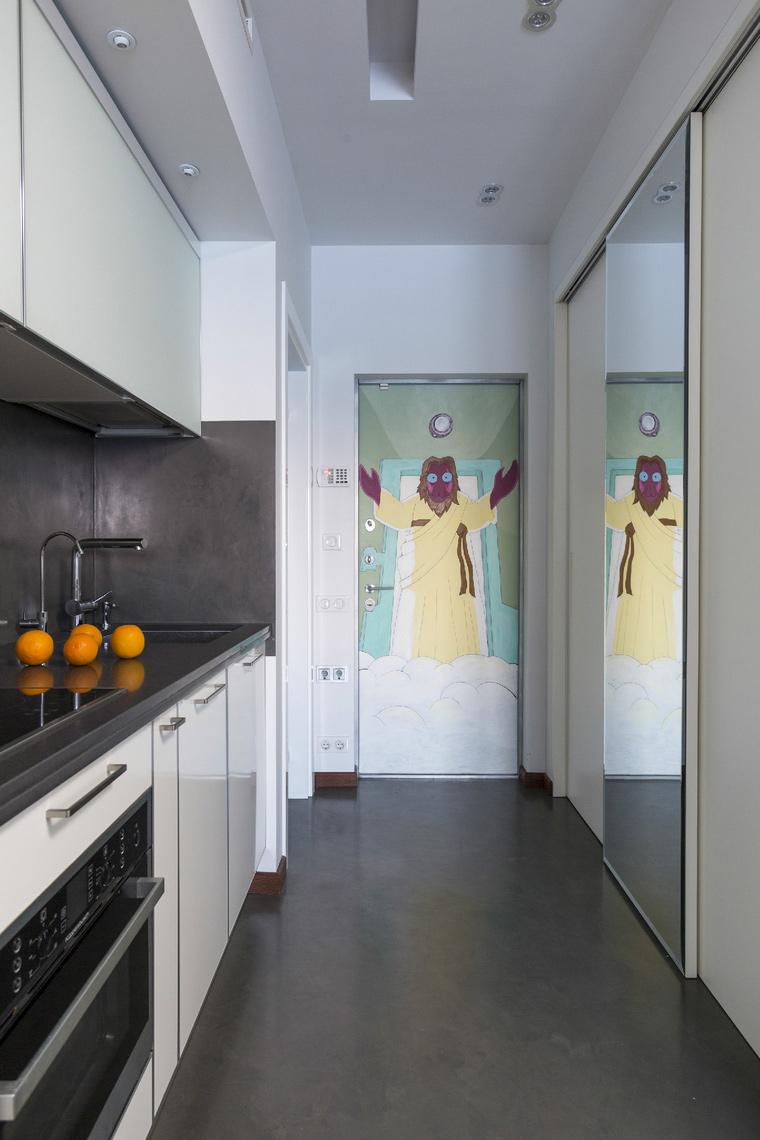 Фото № 47905 кухня  Квартира
