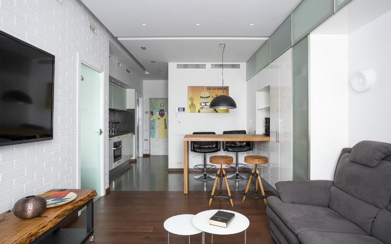 Квартира. гостиная из проекта , фото №47900