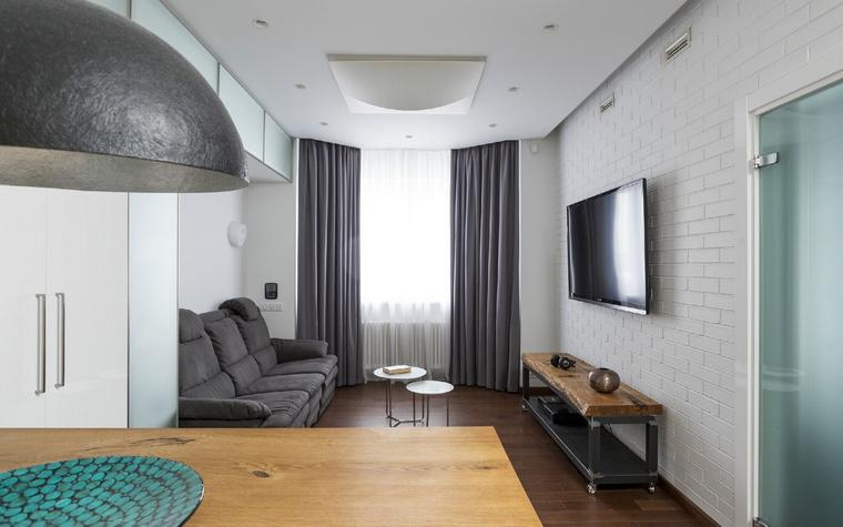 Квартира. гостиная из проекта , фото №47901