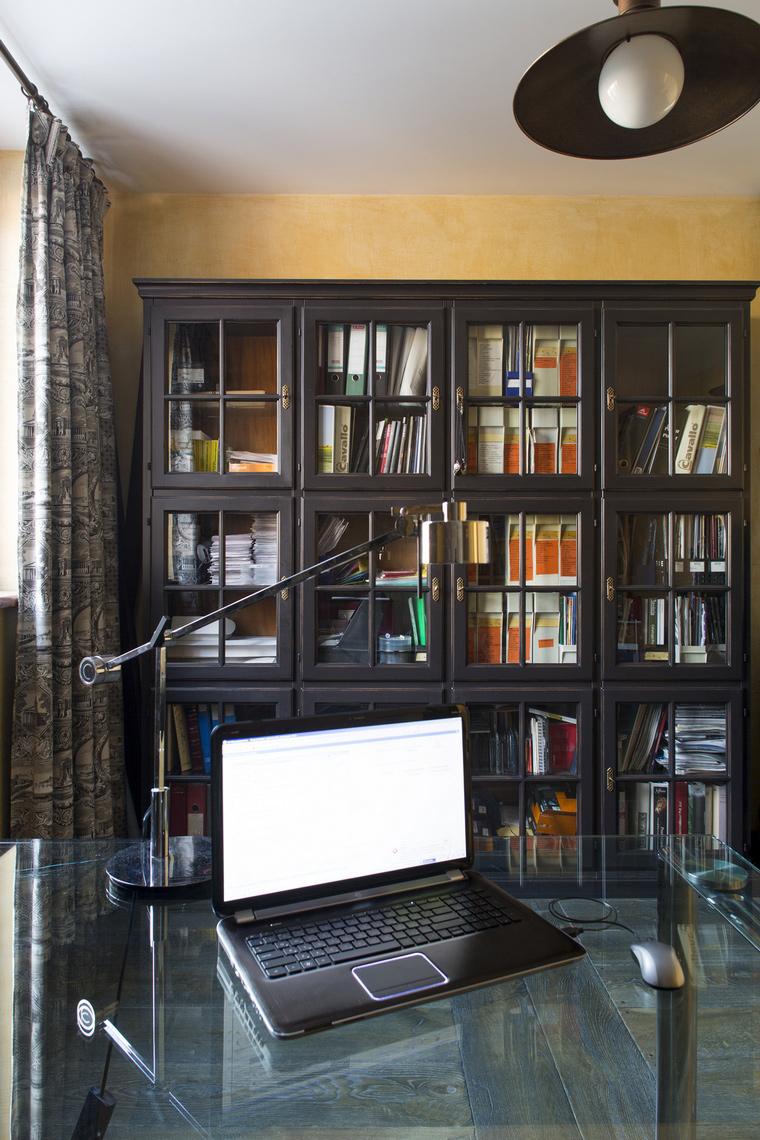 Фото № 47917 кабинет библиотека  Квартира