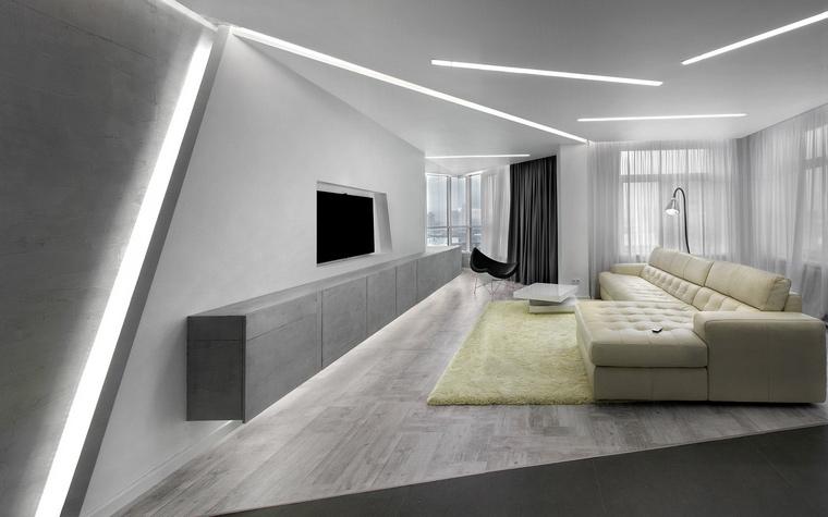 Квартира. гостиная из проекта , фото №47951