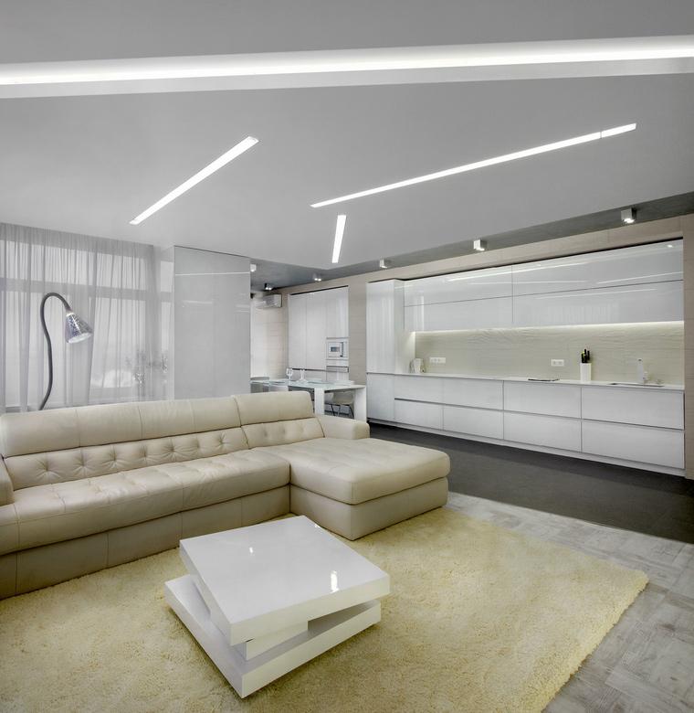Квартира. гостиная из проекта , фото №47952