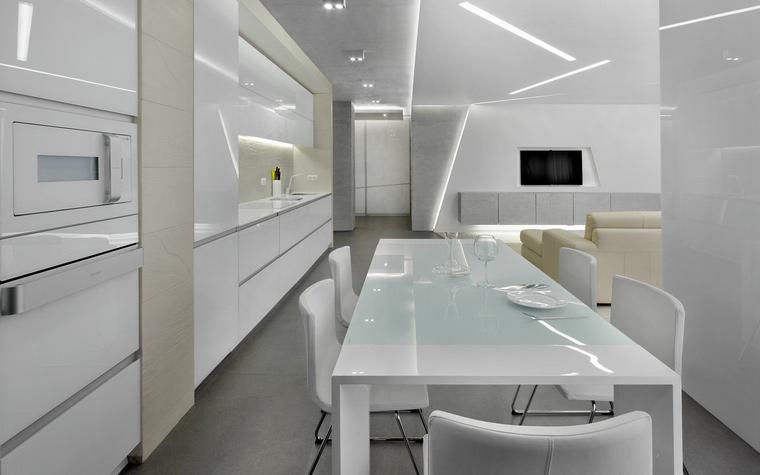 Квартира. столовая из проекта , фото №47955