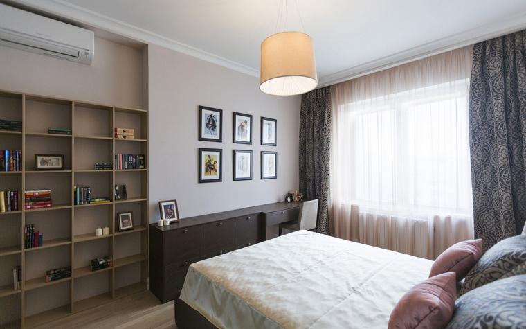 Квартира. спальня из проекта , фото №47975