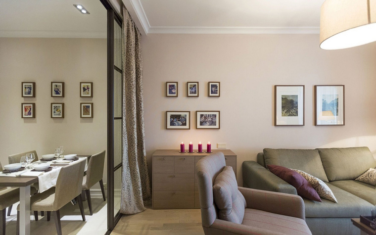 Квартира. гостиная из проекта , фото №47965